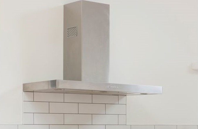 Flat wall mounted Kitchen hood