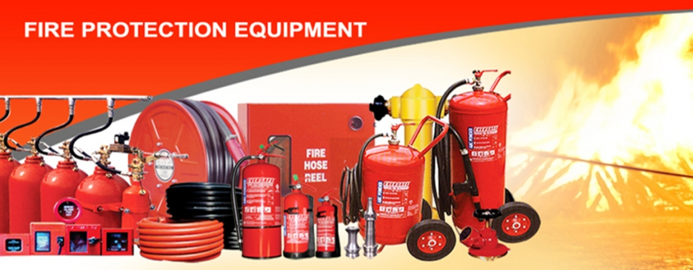 Fire protection equipment required in the workplace!